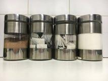 Almacenamiento de la cocina Imagen de archivo