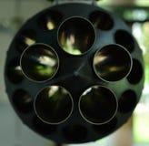 Almacenamiento de los misiles, aviones de combate fotografía de archivo libre de regalías