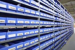 Almacenamiento de los recambios foto de archivo libre de regalías