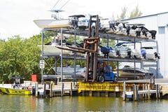 Almacenamiento del barco Fotos de archivo