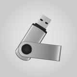 Almacenamiento del flash del USB Fotos de archivo libres de regalías