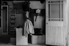 Almacenamiento del garaje Imágenes de archivo libres de regalías