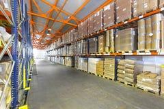 Almacenamiento logístico Fotografía de archivo libre de regalías