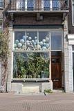 Almacene el frente en Amsterdam, Holanda fotografía de archivo libre de regalías