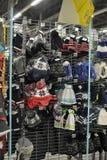 Almacene la ropa del invierno Imagen de archivo libre de regalías