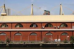 Almacenes de los Docklands foto de archivo libre de regalías