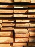Almacenes de madera foto de archivo