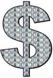 Almachtige dollar Stock Fotografie