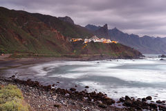 Almaciga by i Tenerife Royaltyfri Bild