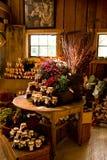 Almacén de la granja del país Foto de archivo libre de regalías
