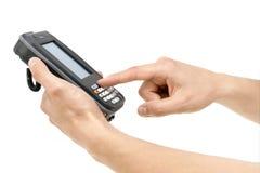 Almacén PDA Imagen de archivo libre de regalías