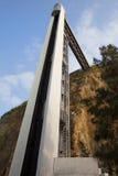 Almada Lift in Portugal Stock Image