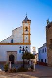 Almaden de La Plata via il modo Spagna del de La Plata Fotografia Stock