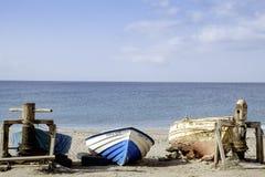 Almadraba de monteleva, cabo de gata, Andalusia, spagna, Europa, la spiaggia Immagine Stock Libera da Diritti