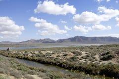 Almadraba de monteleva, cabo de gata, Andalusia, spagna, Europa, riserva naturale salina Fotografia Stock