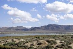 Almadraba de monteleva, cabo de gata, Andalusia, spagna, Europa, riserva naturale salina Fotografie Stock Libere da Diritti