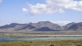 Almadraba de monteleva, cabo de gata, Andalusia, spagna, Europa, riserva naturale salina Fotografia Stock Libera da Diritti