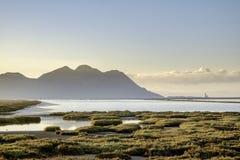 Almadraba de monteleva, cabo de gata, Andalusia, spagna, Europa, riserva naturale salina Immagine Stock