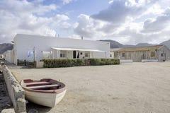 Almadraba de monteleva, cabo de gata, Andalusia, spagna, Europa, vista Fotografie Stock Libere da Diritti