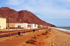 Almadraba-Strand in Naturpark Cabo Des Gata-Nijar, in Spanien stockfotos