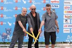 Almamegretta al festival cinematografico 2016 di Giffoni Immagine Stock
