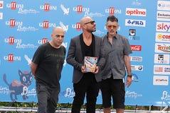 Almamegretta al festival cinematografico 2016 di Giffoni Fotografia Stock