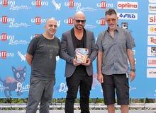 Almamegretta al festival cinematografico 2016 di Giffoni Fotografie Stock