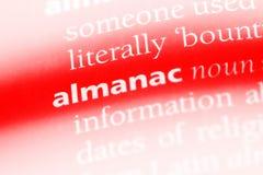 almanac Fotografia Stock Libera da Diritti