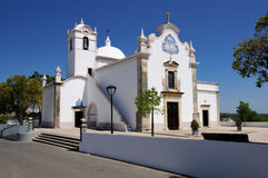 almancil igreja louren o葡萄牙s 免版税图库摄影