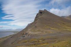 Almannaskard przełęcz w Iceland Obrazy Stock