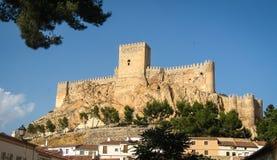 Almansa castle, Castilla la Mancha, Spain Royalty Free Stock Photography