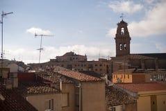 Almanza, Spanje Stock Foto