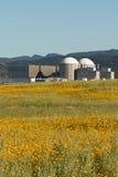 Almaraz nuclear power plant in the center of Spain Stock Photo