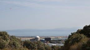 Almaraz Nuclear Power Plant Royalty Free Stock Image
