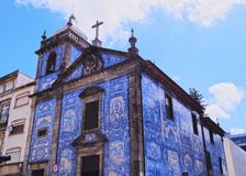 Almas Chapel in Porto Royalty Free Stock Photography