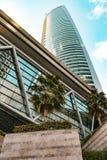 Almas wierza, JLT, Dubaj, emiraty - Dec 2017 Zdjęcia Royalty Free