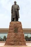 Almaty- - Abay-Monument Stockfotos