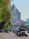 Almaty -  Al-Farabi avenue Stock Photos