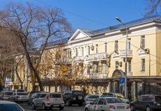 Almaty - alte Architektur Lizenzfreies Stockfoto