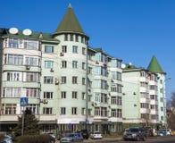 Almaty - architettura moderna Immagine Stock