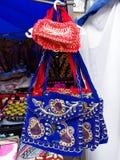 Almaty - borse etniche kazake Immagine Stock Libera da Diritti