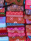 Almaty - borse etniche kazake Fotografia Stock
