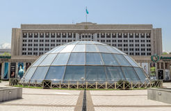 Almaty - the building of city administration Stock Photos
