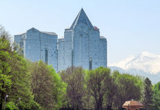 Almaty - Business Center Nurly Tau Royalty Free Stock Images