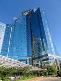 Almaty - Business Center Nurly Tau Royalty Free Stock Photography