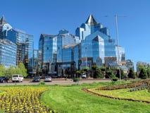 Almaty - Business Center Nurly Tau Royalty Free Stock Photo