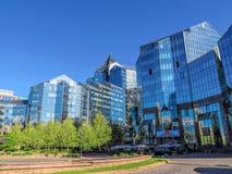 Almaty - Business Center Nurly Tau Royalty Free Stock Image