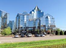 Almaty - Business Center Nurly Tau Stock Photography