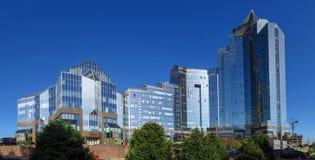 Almaty - Business Center Nurly Tau - Panorama Royalty Free Stock Photo