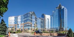 Almaty - Business Center Nurly Tau - Panorama Stock Photos